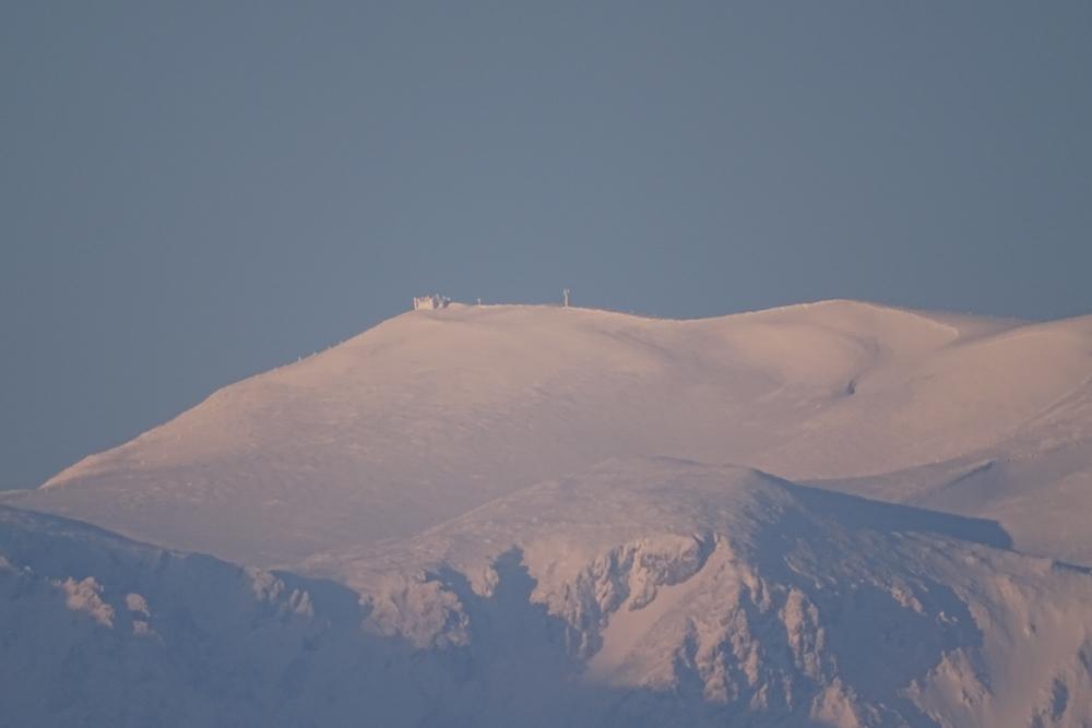 Der Schneeberg in winterlicher Pracht
