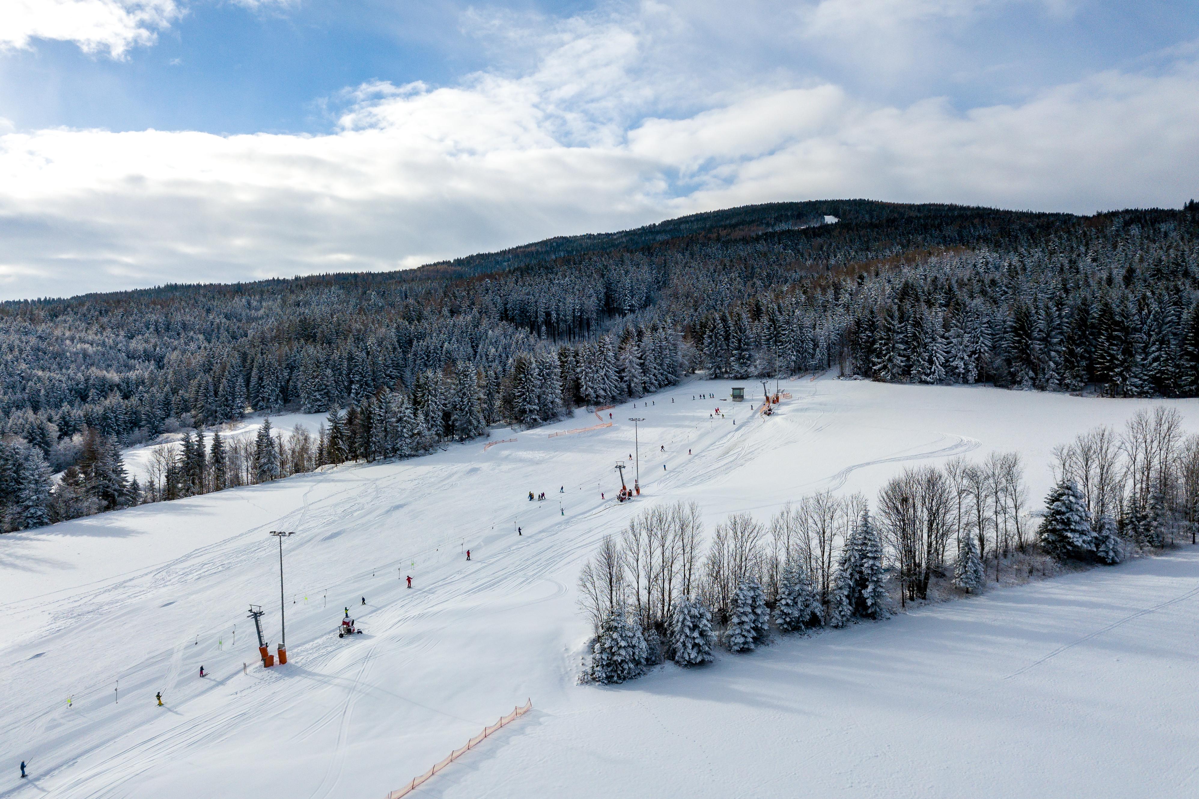 Frau Holle hat die Skisaison in St. Corona gerettet