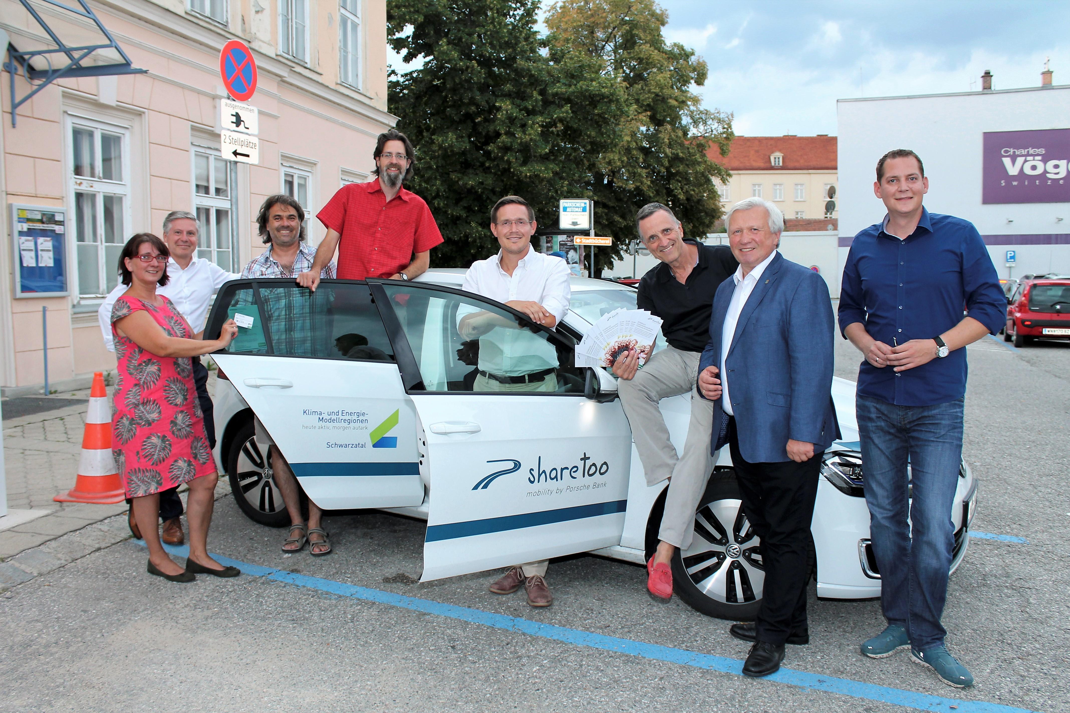 Jetzt startet Pilotprojekt für E-Carsharing in Neunkirchen