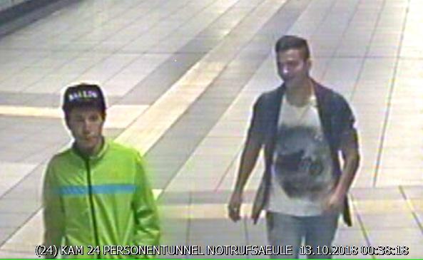 Raubüberfall am Bahnhof Wiener Neustadt: Polizei fahndet nach zwei Männern