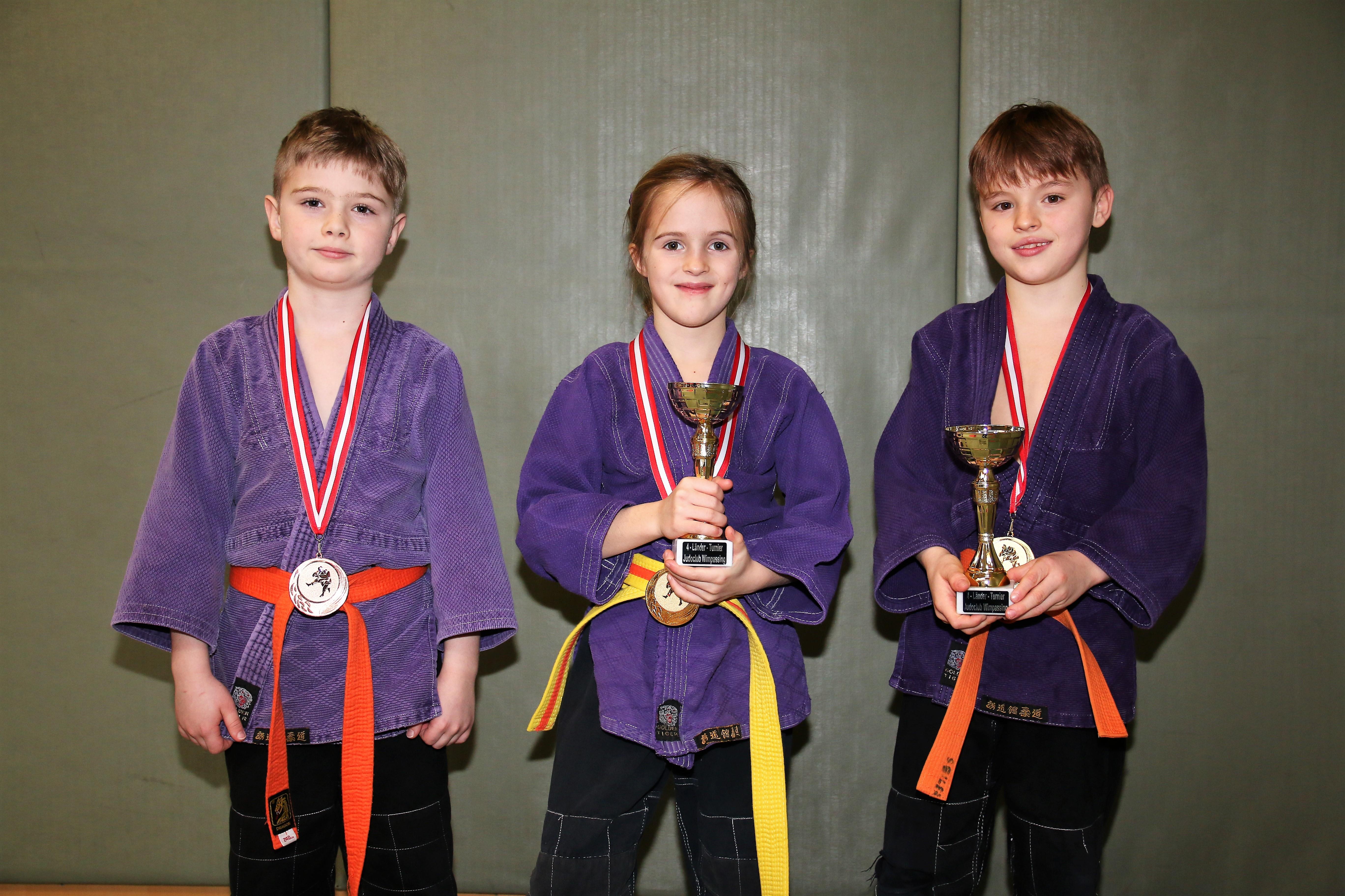 Judoka-Nachwuchs startete erfolgreich ins neue Sportjahr
