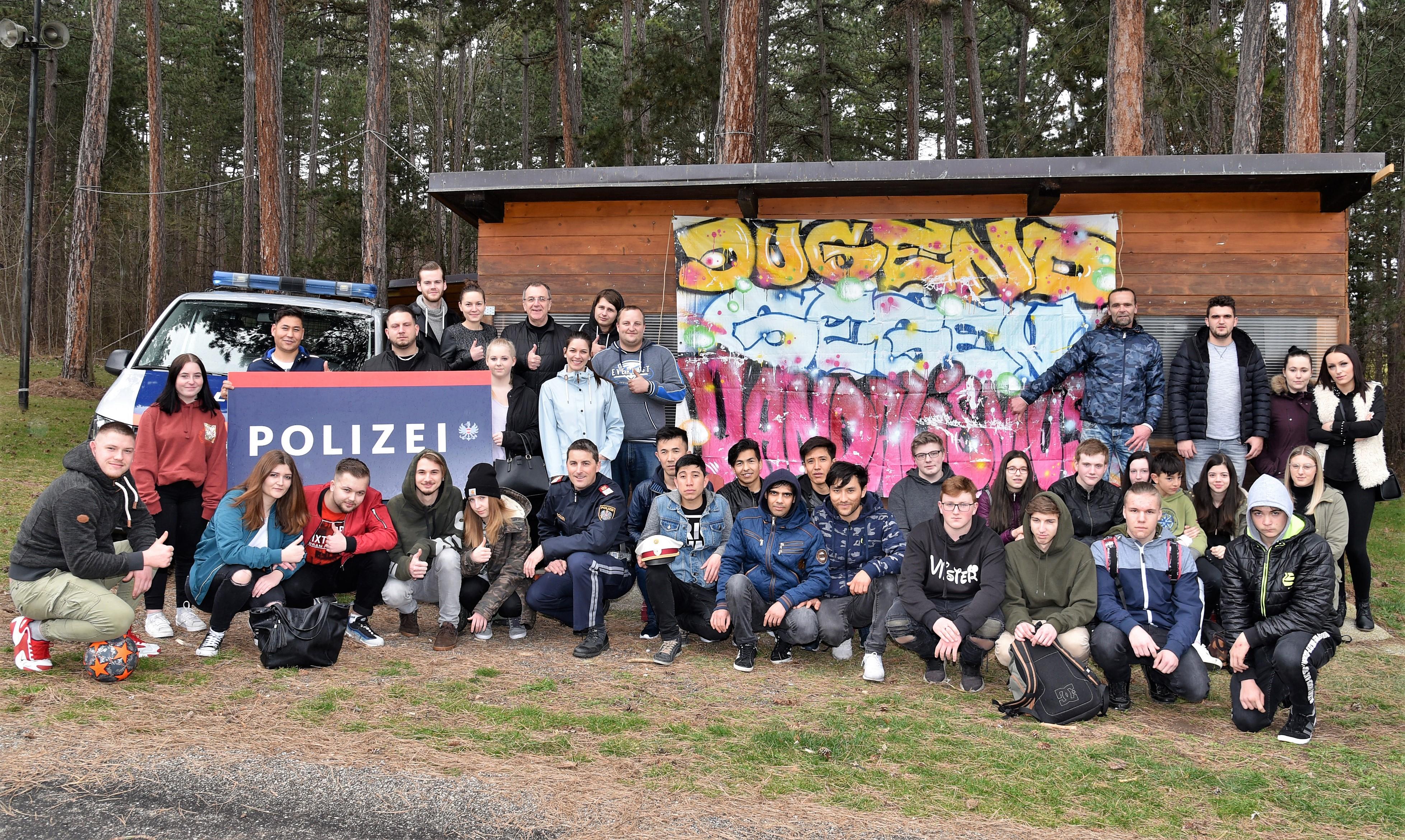Ternitzer Jugend tritt gegen Vandalismus auf