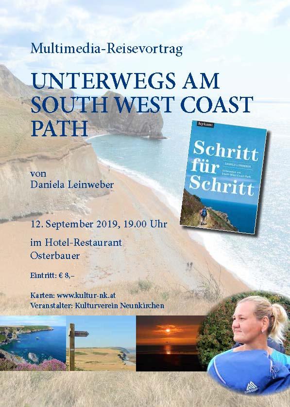 Mit Daniela Leinweber unterwegs am South West Coast Path