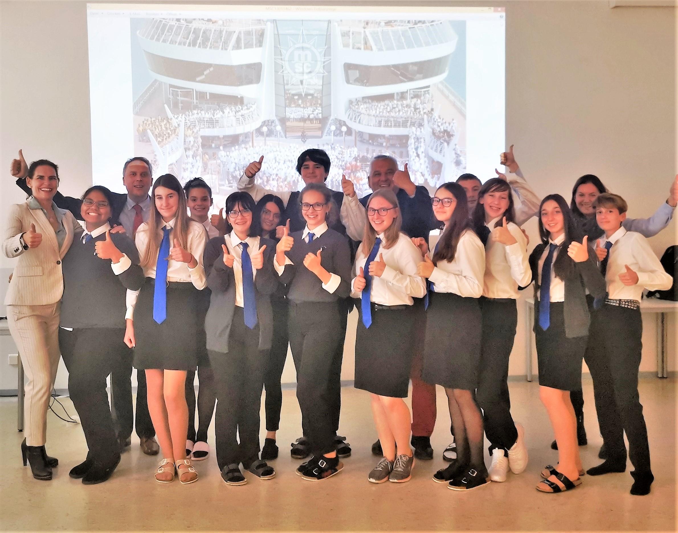 Kreuzfahrt-Imperium MSC ist Partner der neuen Travel-Klasse der Tourismusschulen Semmering
