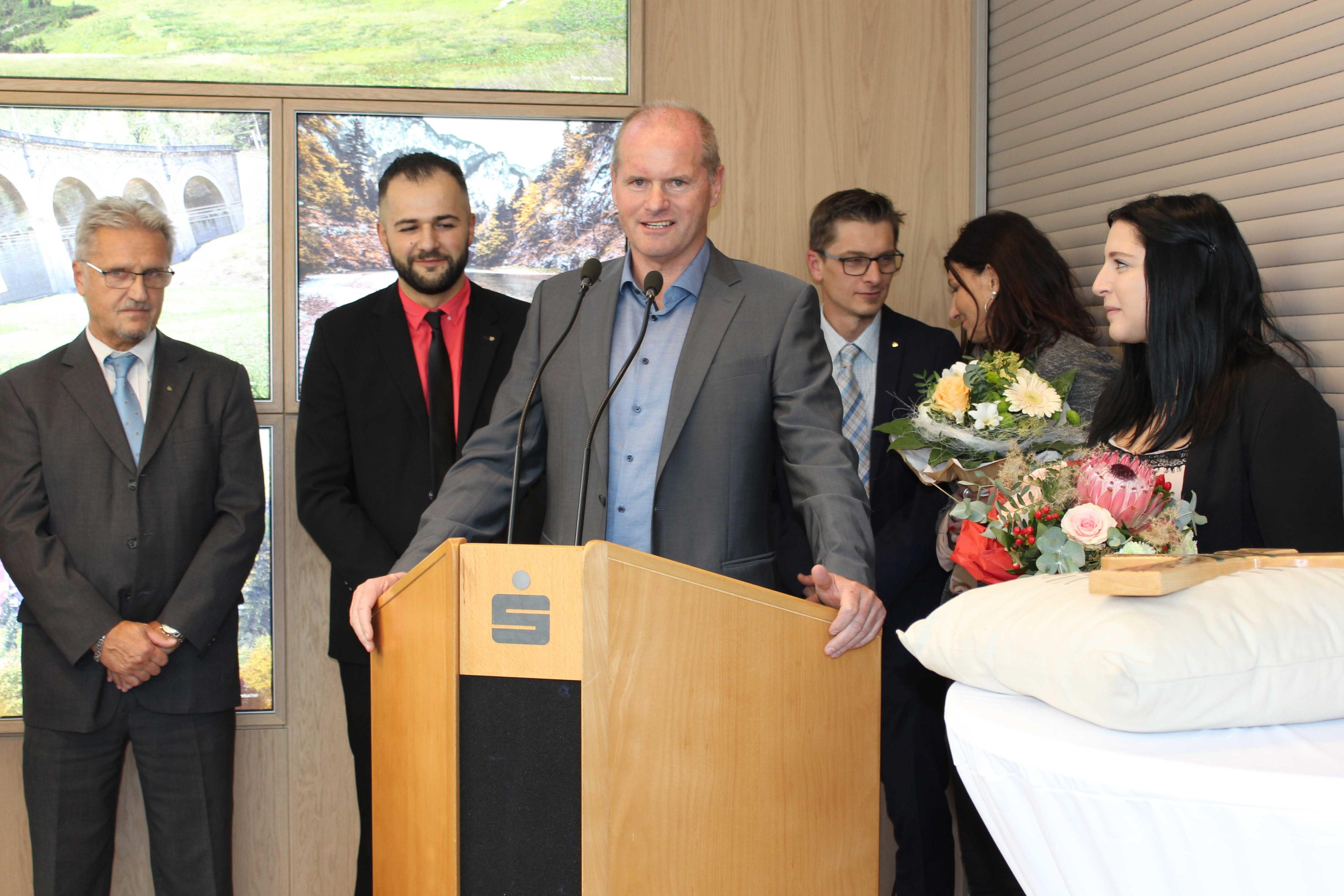 Neue Sparkassenfiliale in Reichenau eröffnet