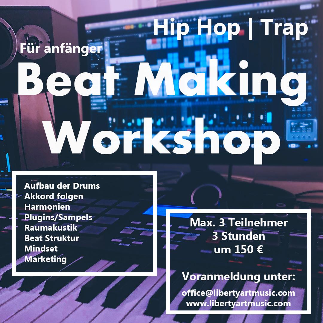Beat Making Workshop für AnfängerInnen in Schlöglmühl