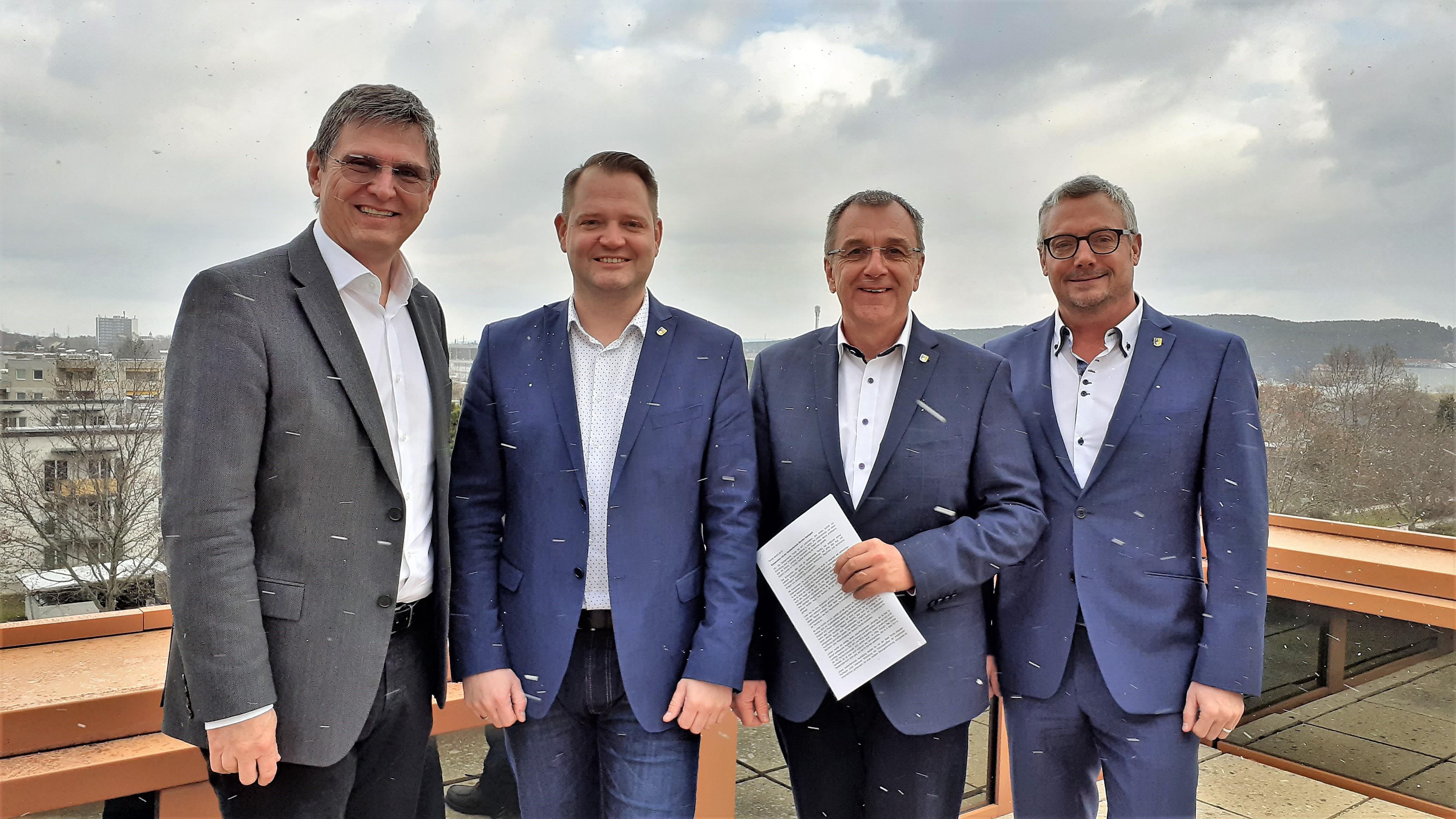 Ternitz besiegelt Kooperation mit der Fachhochschule Kärnten