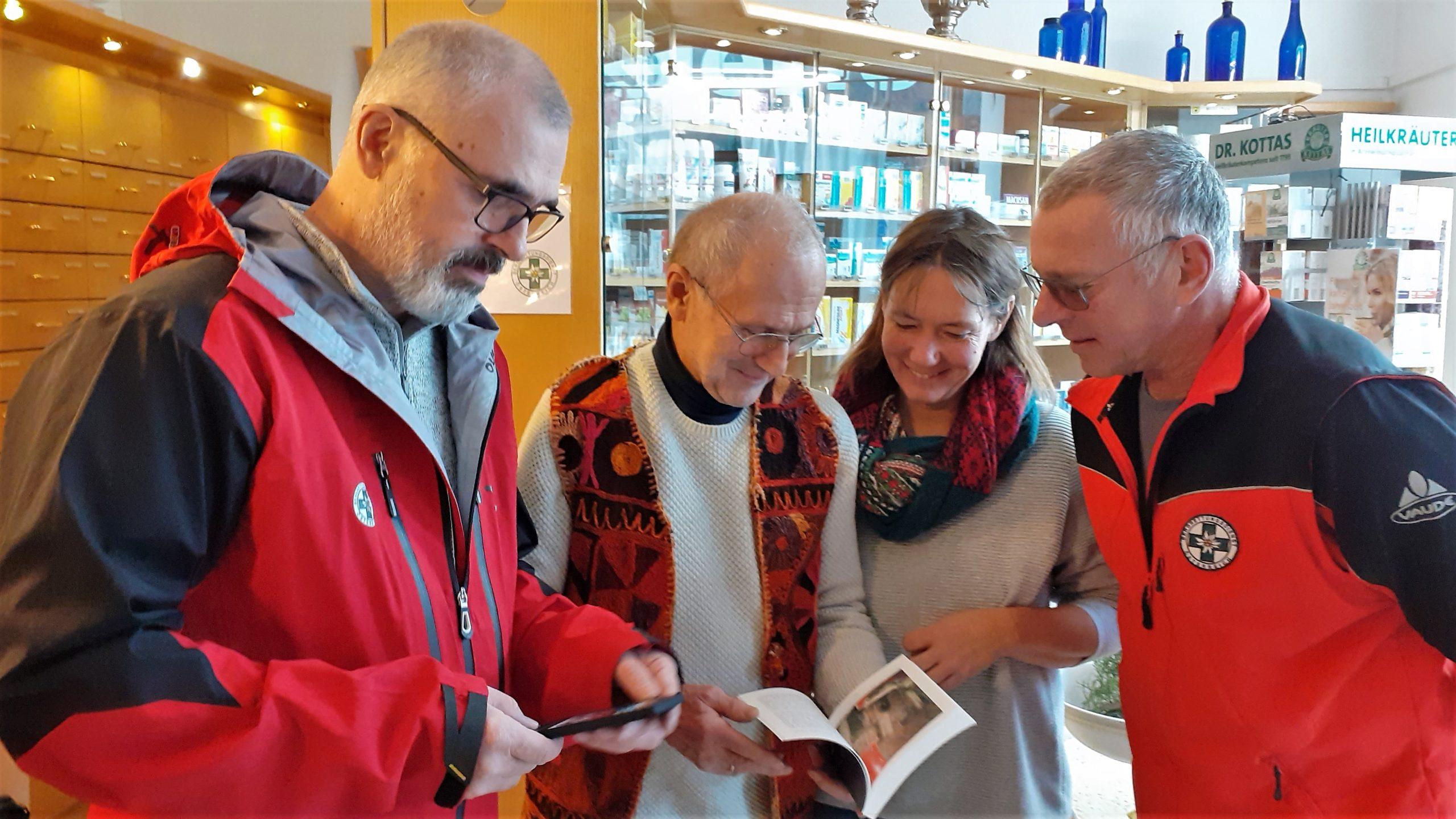 Weihnachtsgeschenk für die Bergrettung Reichenau