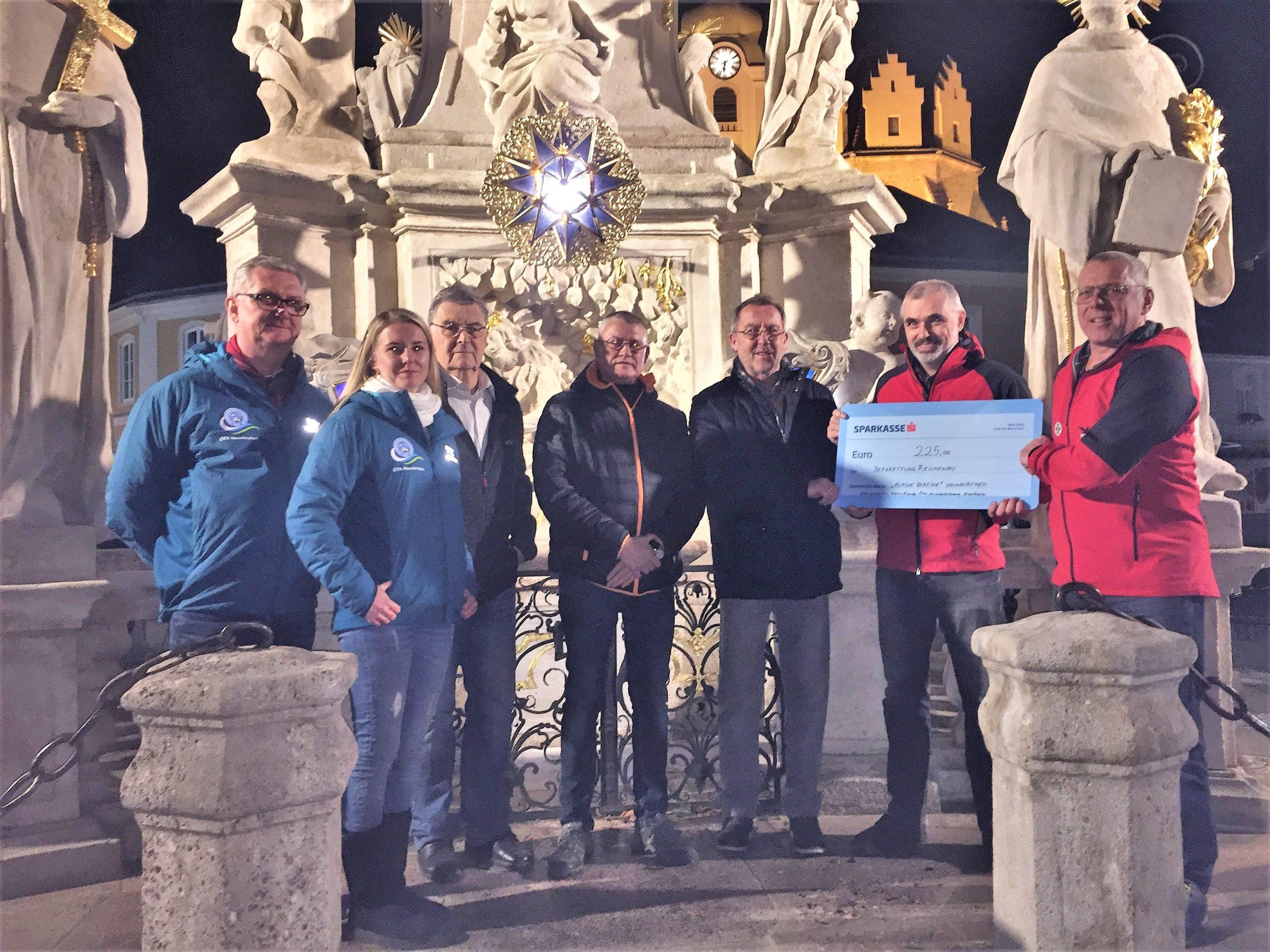 Alpine Vereine spendeten für Bergrettung Reichenau