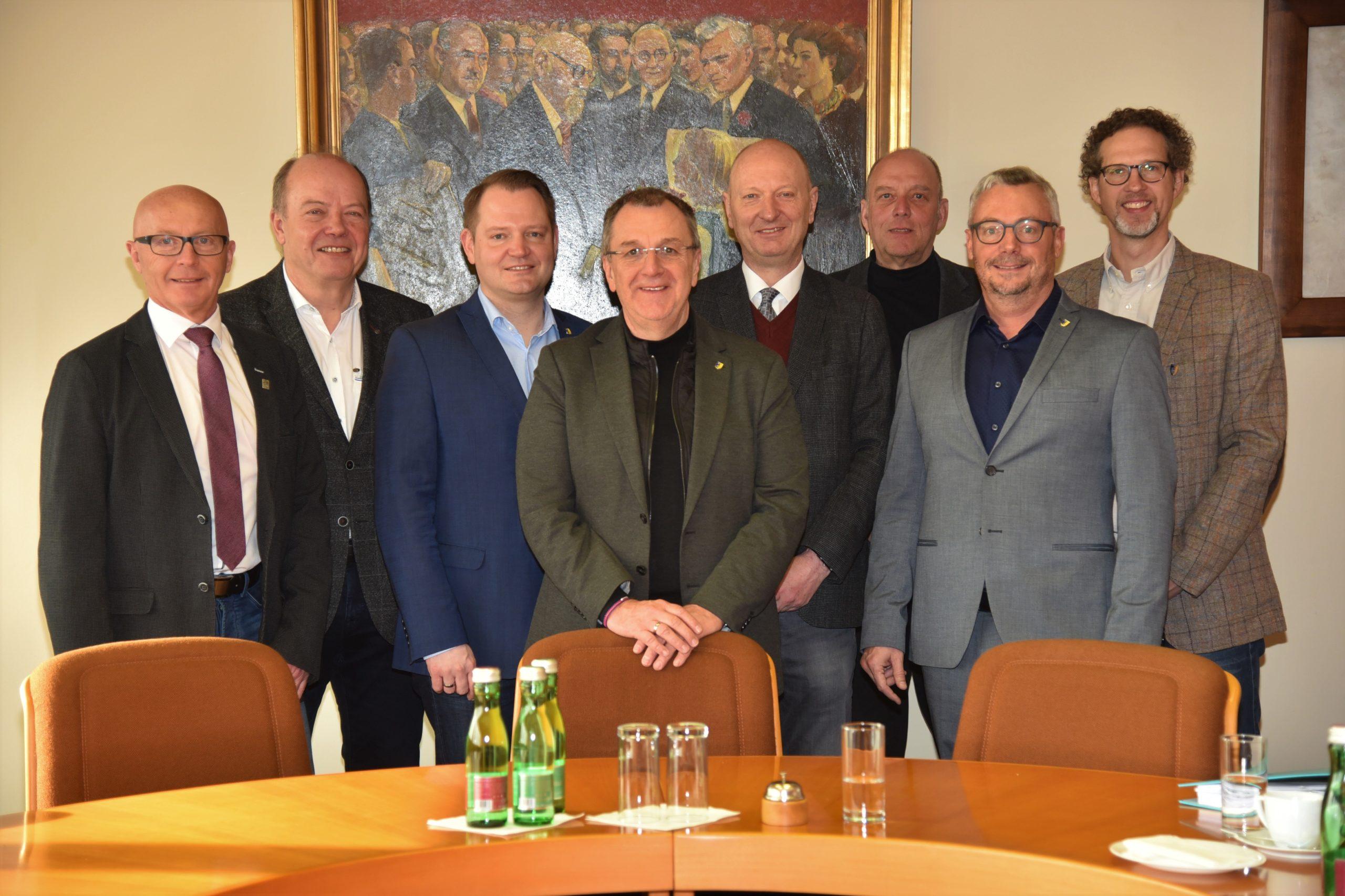 Stadtamtsdirektoren trafen sich in Ternitz