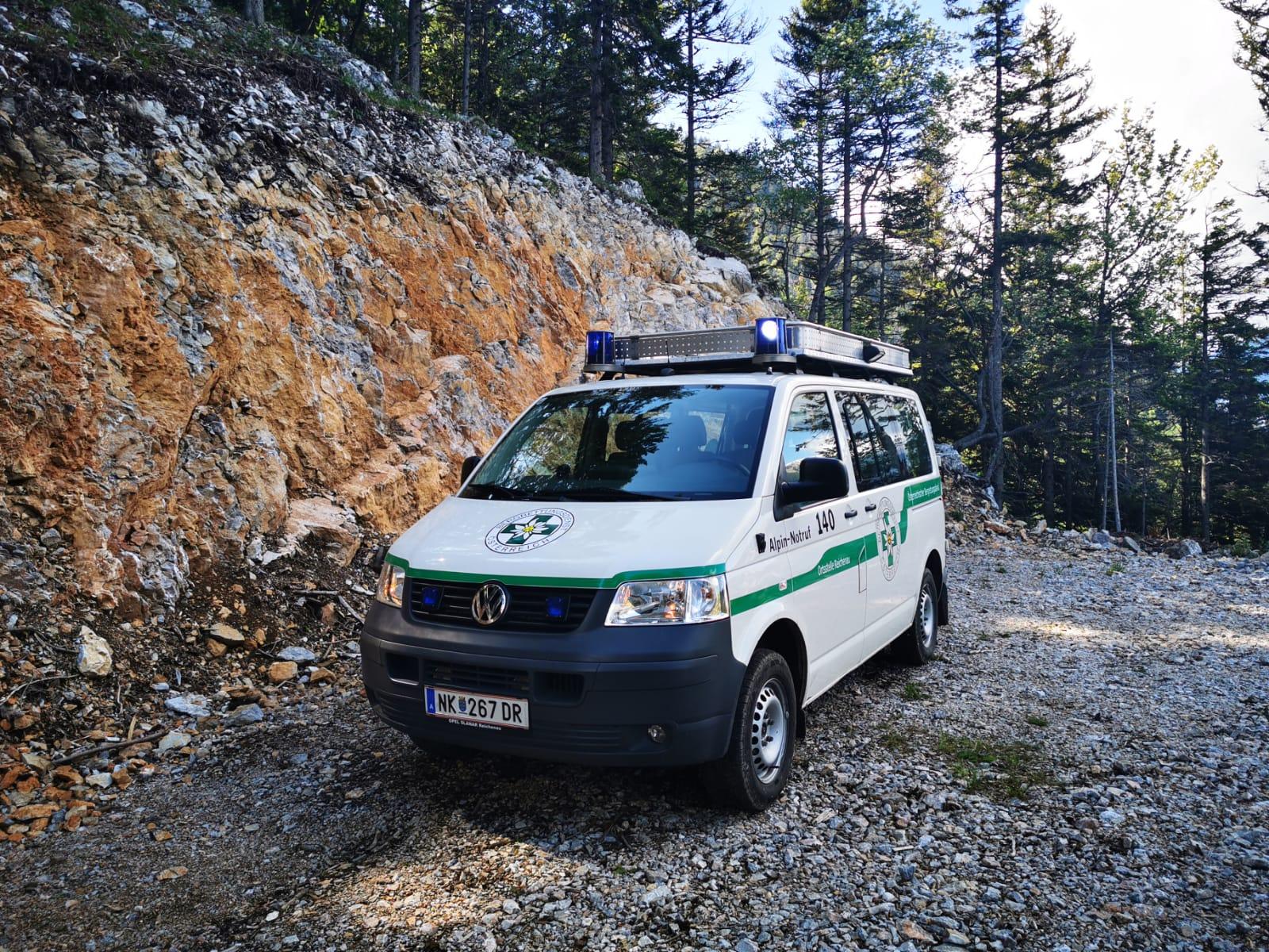 Zwei Frauen aus Wien gerieten auf der Rax mit Säugling in Bergnot