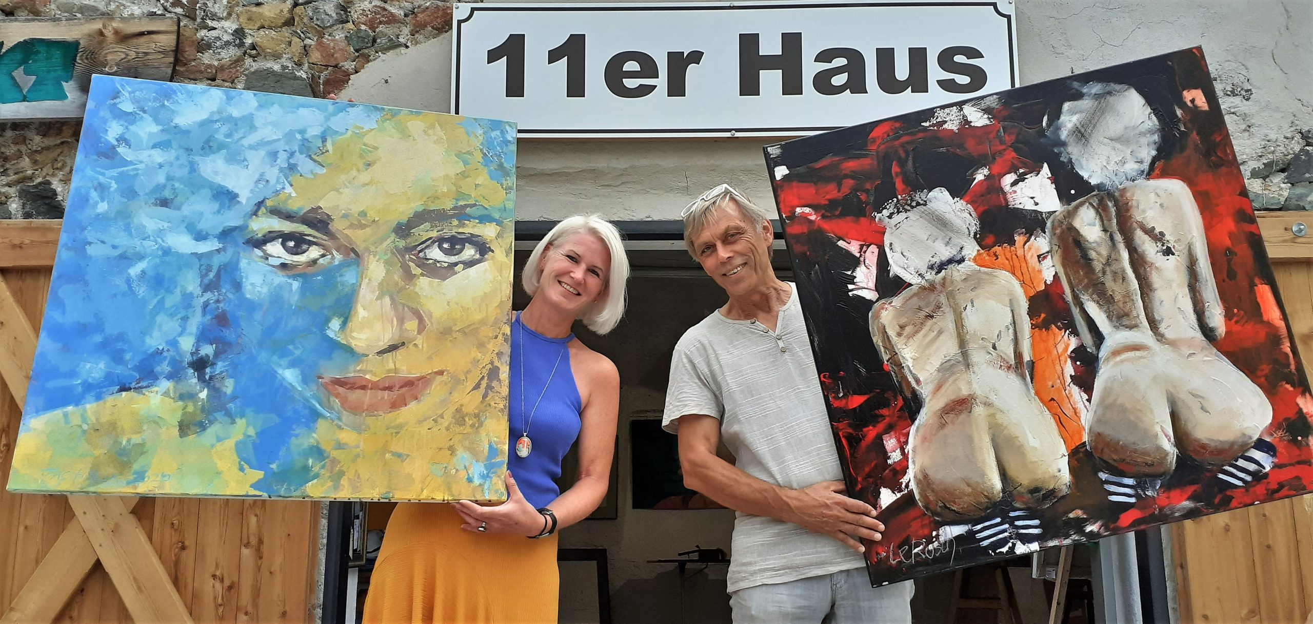 Bunte Bilderwelt im 11er-Haus in Reichenau