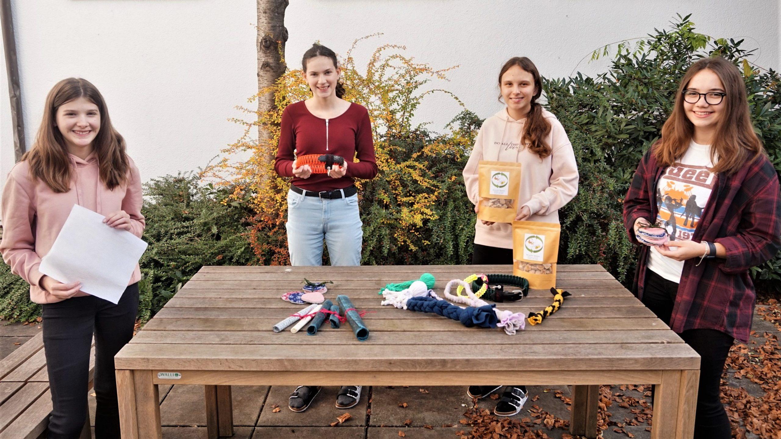 Schülerinnen der Fachschule Warth sind 'Recycling Queens'
