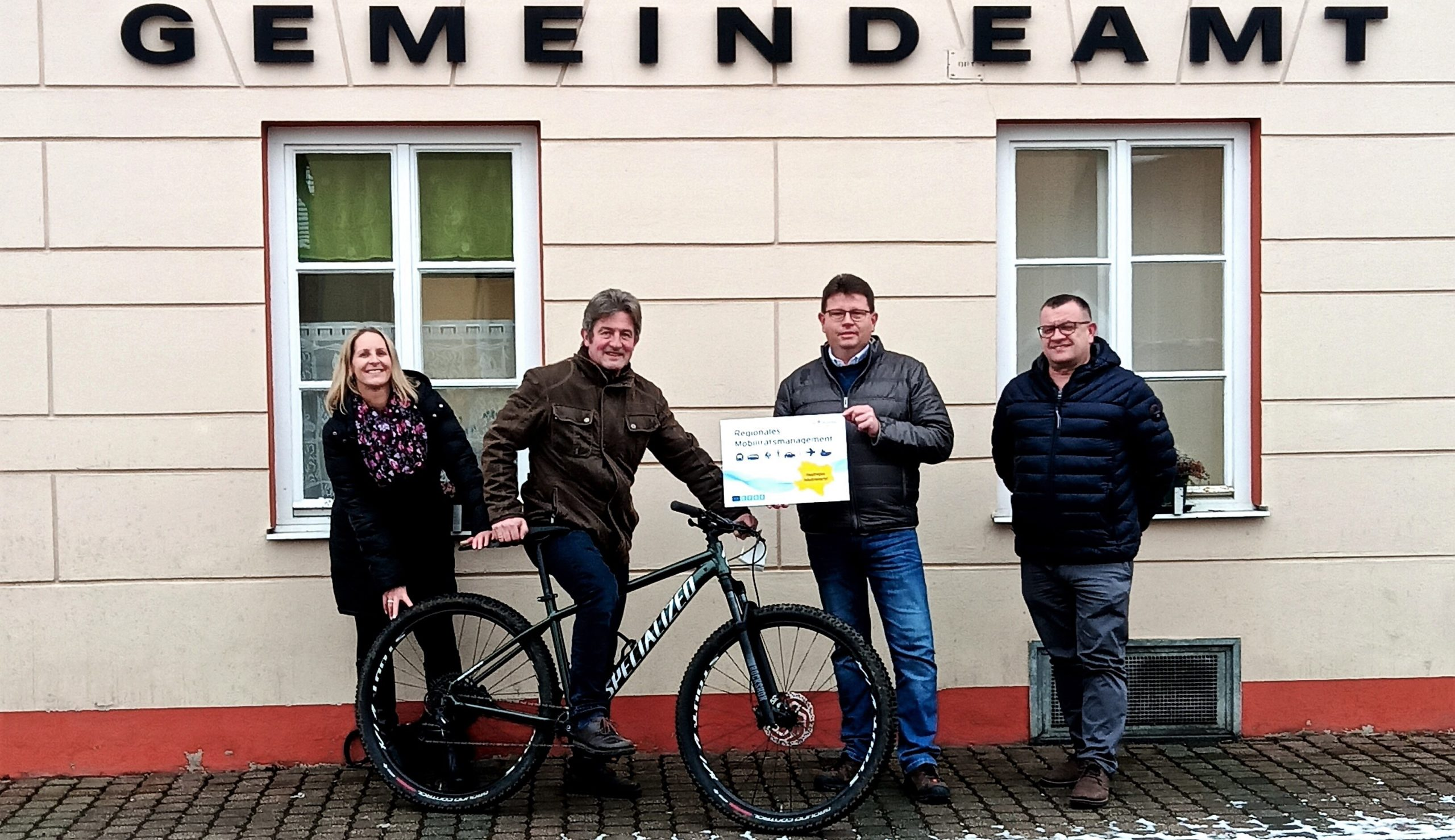Breitenau ist jetzt Mobilitätsgemeinde – Land fördert Radwegplanung