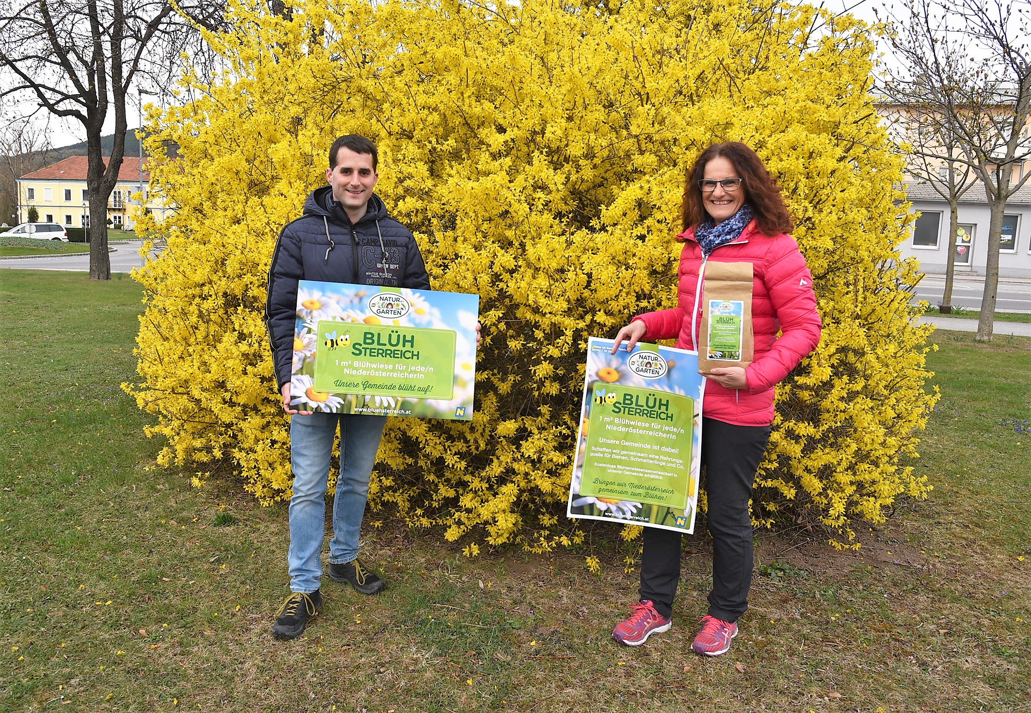 Am Blühwiesensonntag gibt es im Ternitzer Herrenhaus-Park Blumensamen