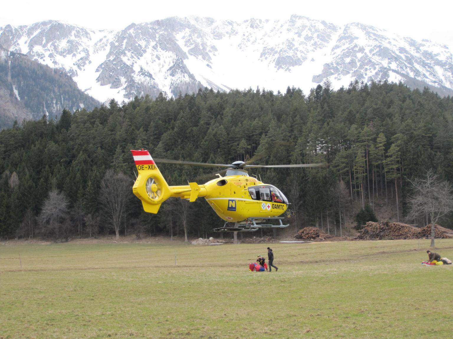 Mödlinger (45) stürzte in der Breiten Ries am Schneeberg 150 Meter ab