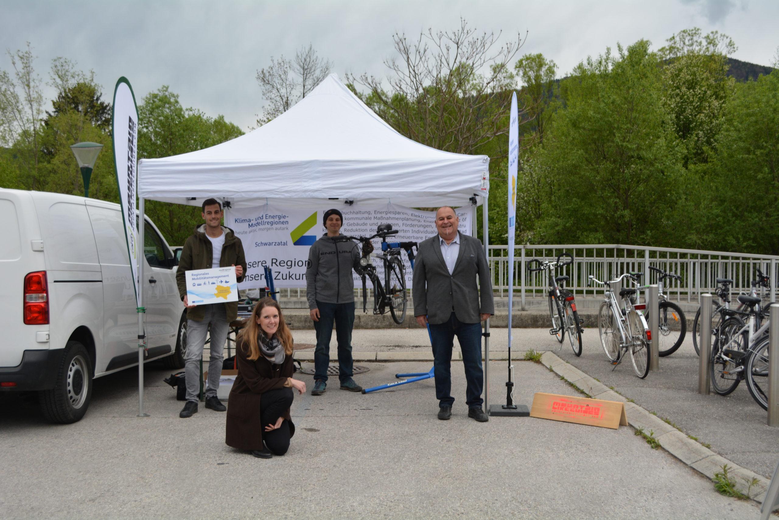 Radreparaturtage in Gloggnitz und Payerbach lockten viele Interessierte an