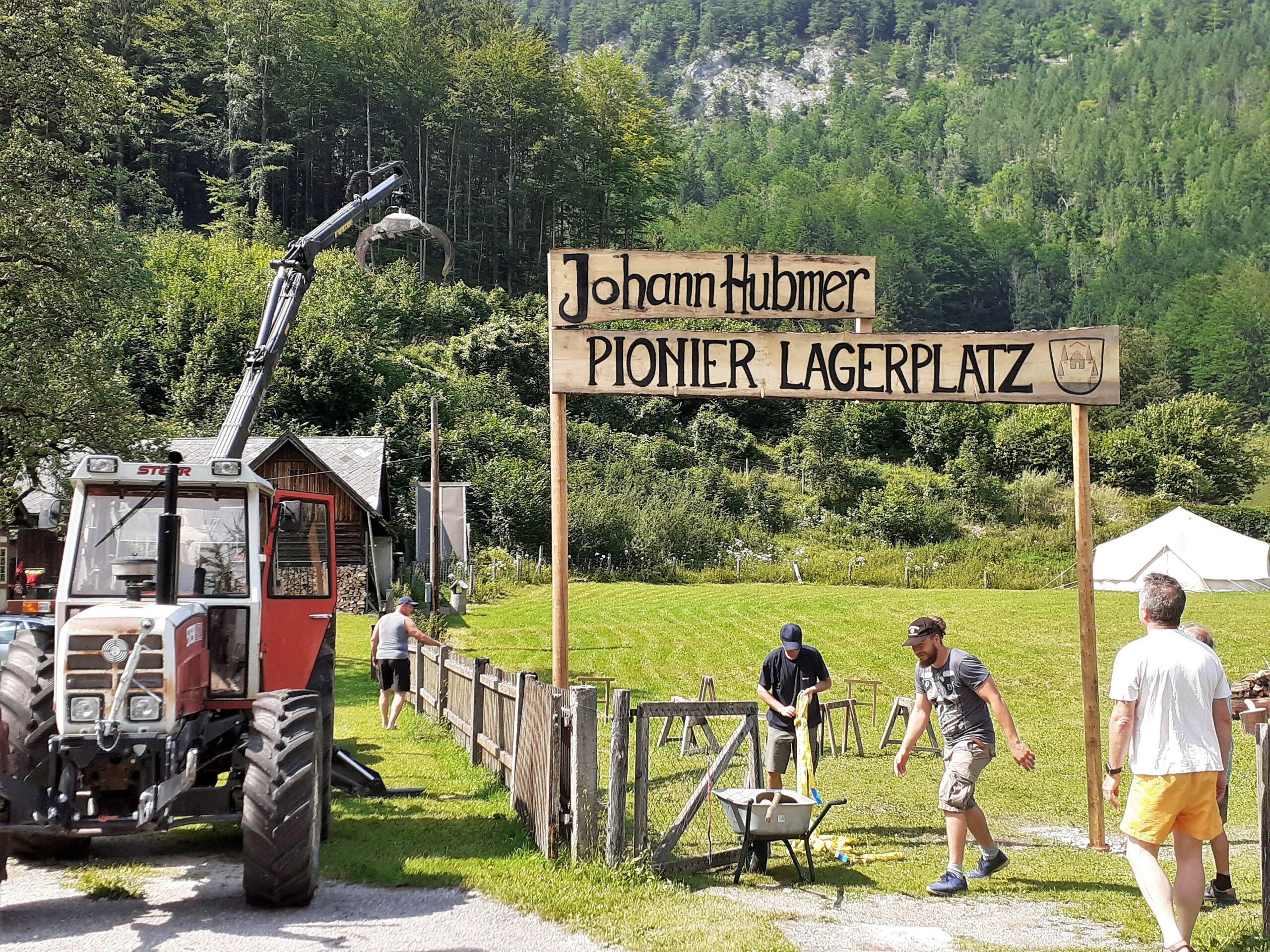 Der Johann-Hubmer-Pionierlagerplatz in Naßwald wurde mit Dorffest eröffnet