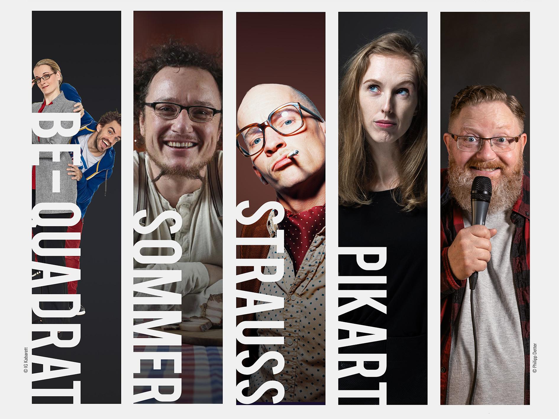 Mixed-Show im Stadtkino Ternitz als Trampolin für den heimischen Kabarett-Nachwuchs