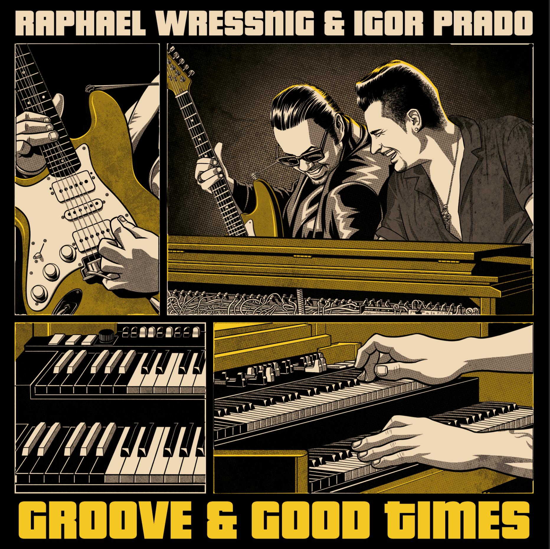 Feines Vinyl und mehr: Mit 'Groove & Good Times' bringt Raphael Wressnig echtes  Blues-Feeling mit cooler Funkiness