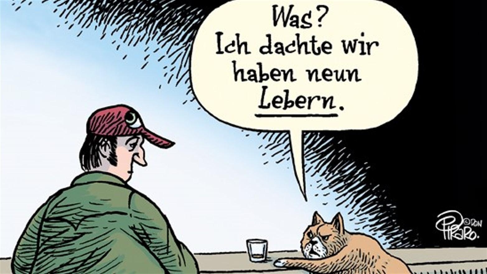 Bis 30. Oktober schnurrt in der Galerie der Komischen Künste im Wiener MuseumsQuartier die lustige Katzenwelt